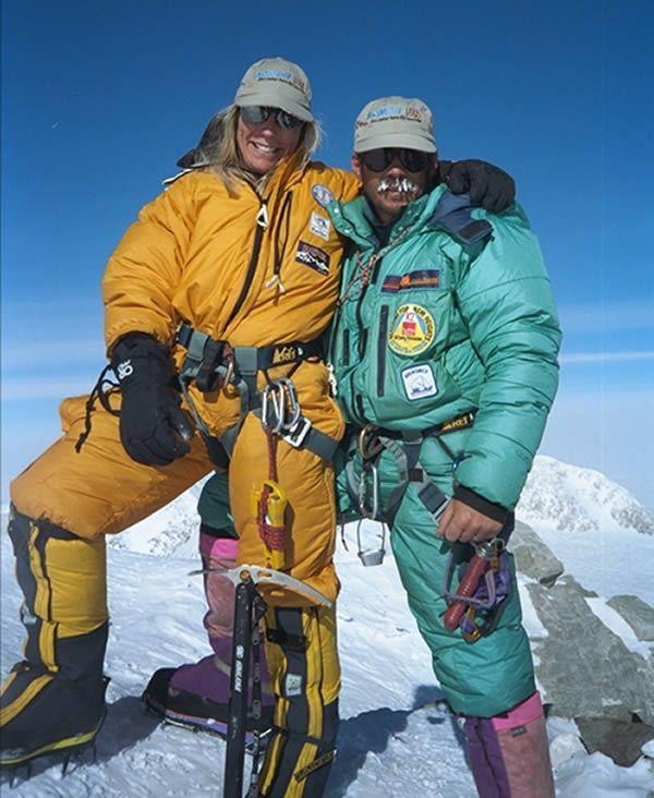 Coppia alpinisti