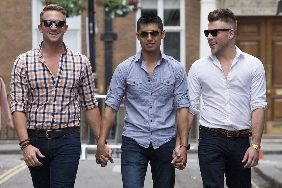"Il terzetto gay svela: ""Insieme stiamo bene, ecco perché"""