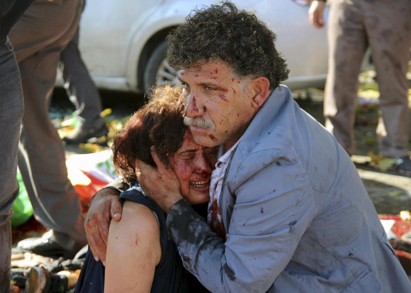 Foto simbolo strage Ankara