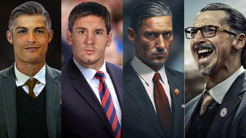 I fuoriclasse del calcio da vecchi: Messi, Ronaldo, Totti e gli altri