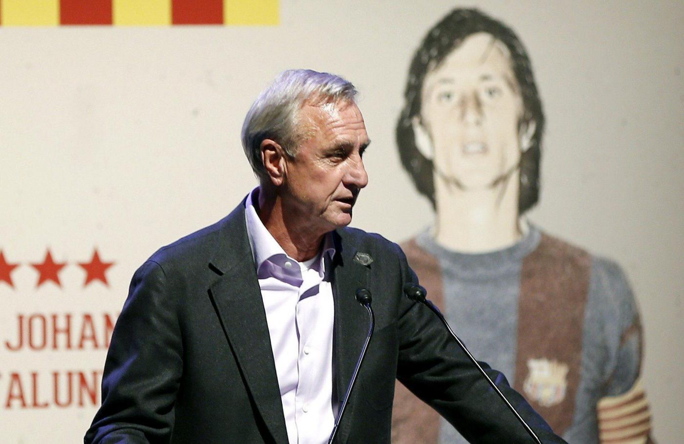 Johan Cruyff malato di tumore ai polmoni