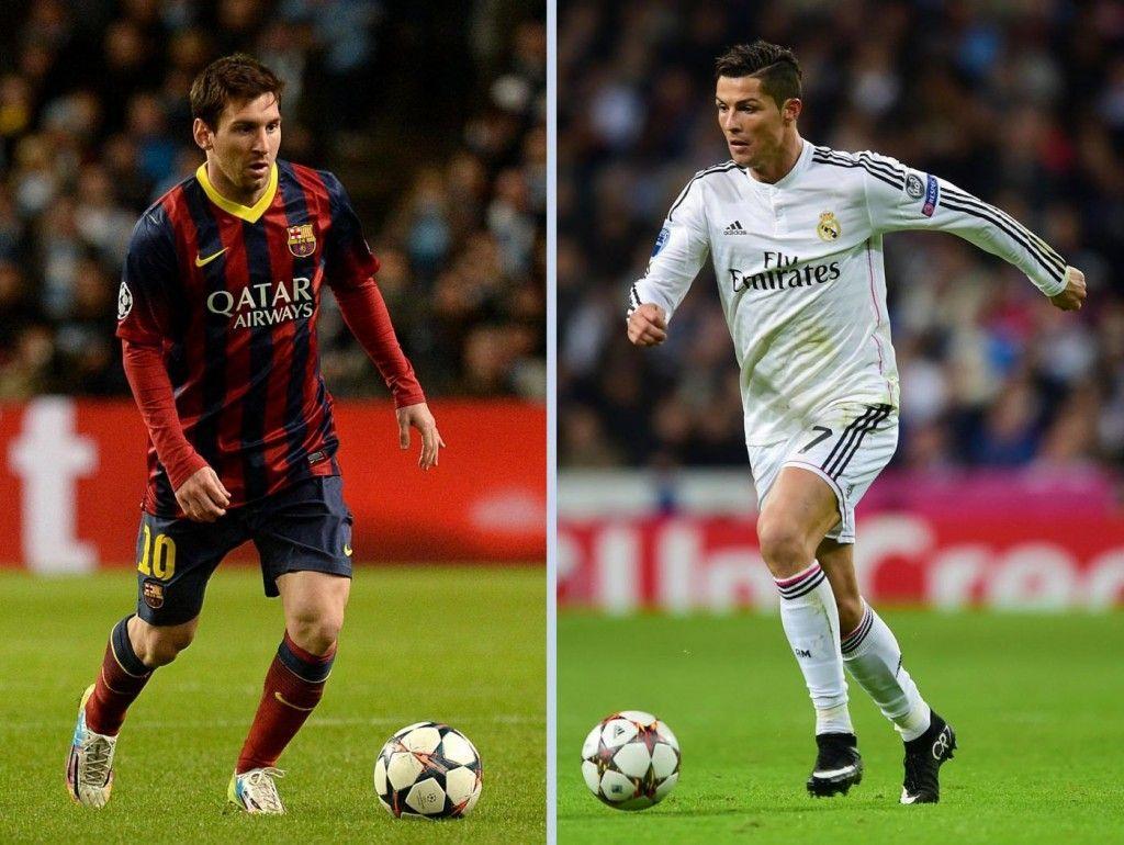 Messi vs Cristiano Ronaldo 1024x770