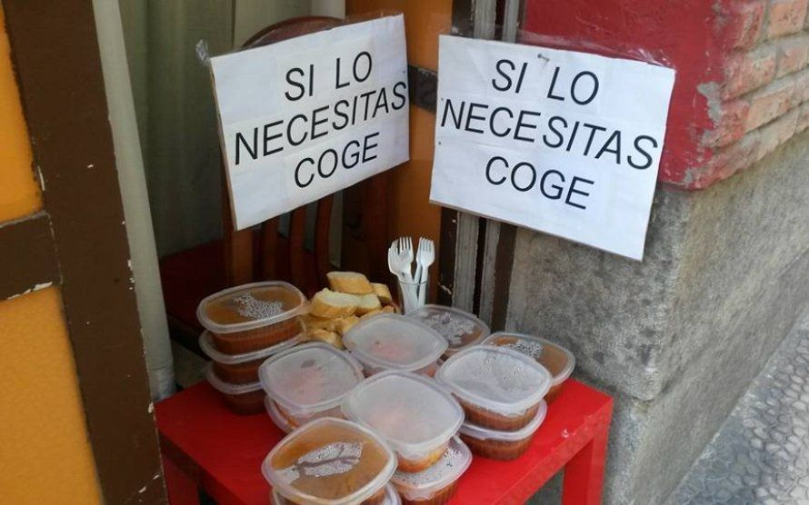 Spagna: un ristorante offre cibo a chi ne ha bisogno