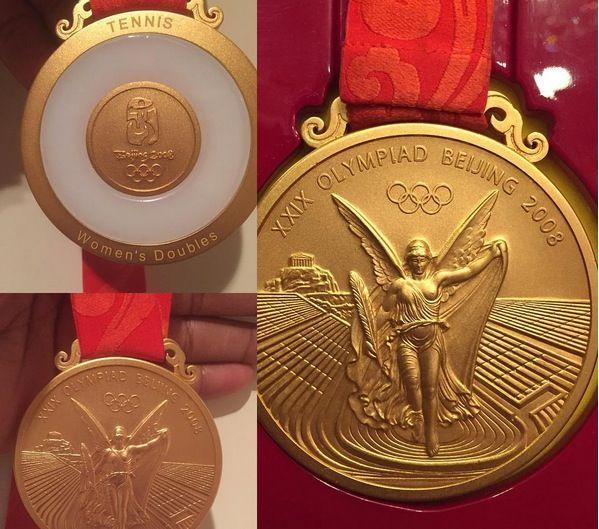 Serena Williams pulisce casa e ritrova la medaglia d'oro olimpica