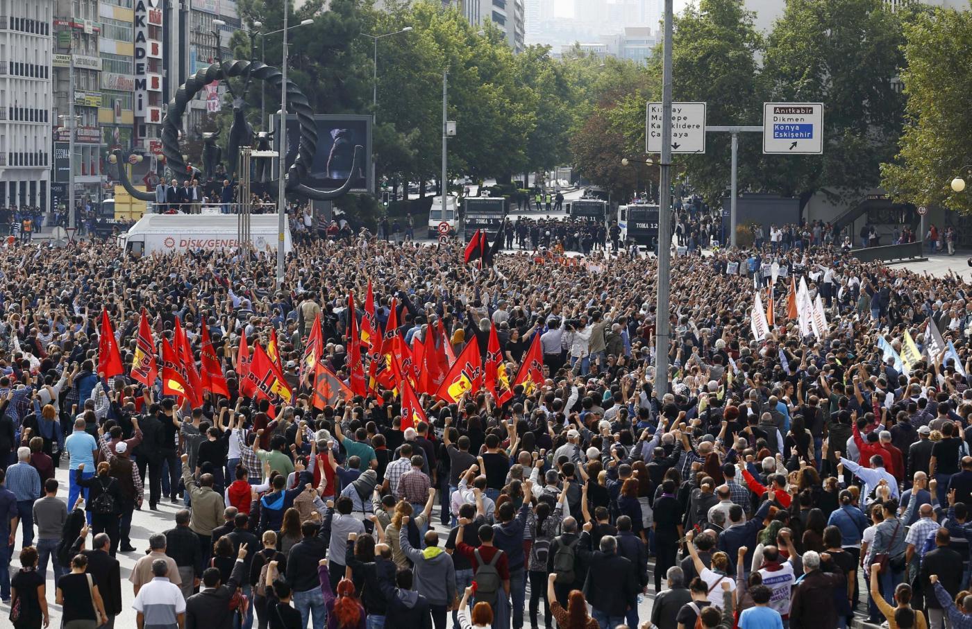 Sindacalisti turchi