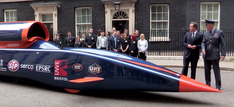 Auto più veloci del mondo: Bloodhound raggiungerà i 1600km/h