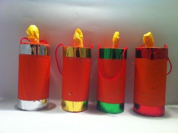 candele di carta