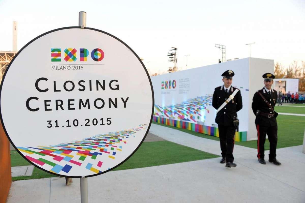 La cerimonia di chiusura di Expo Milano 2015 e le premiazioni dei migliori padiglioni