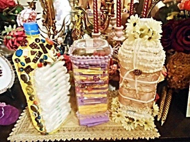 flaconi decorati