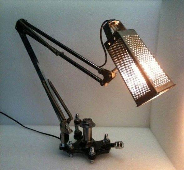 lampada grattugia