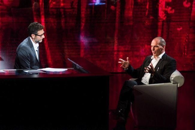Varoufakis da Fazio, 24mila euro per 24 minuti di tv: infuria la polemica