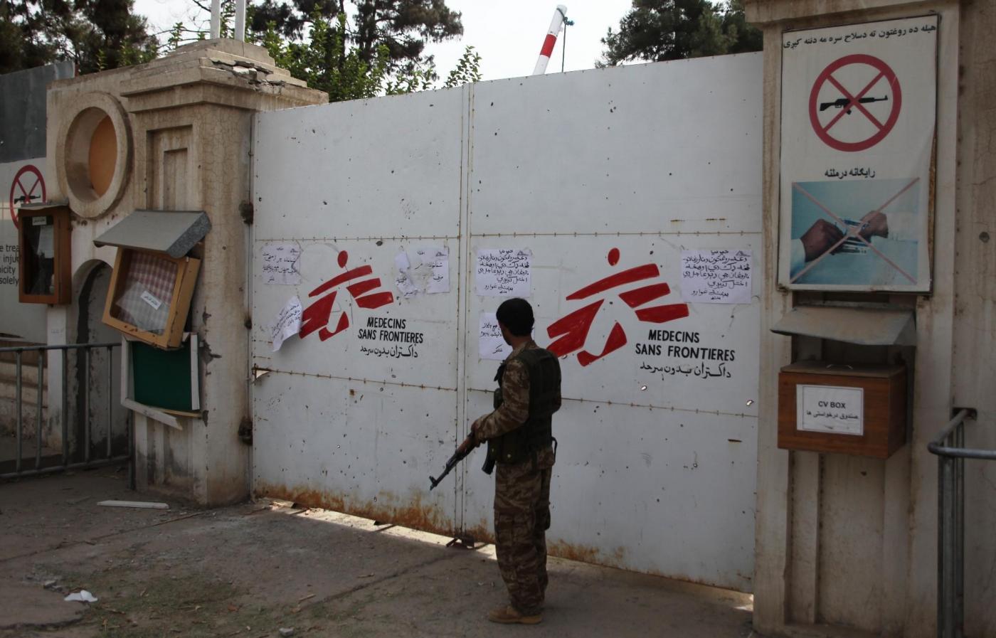 Il Pentagono pronto a risarcire le vittime della strage all'ospedale di Medici senza frontiere