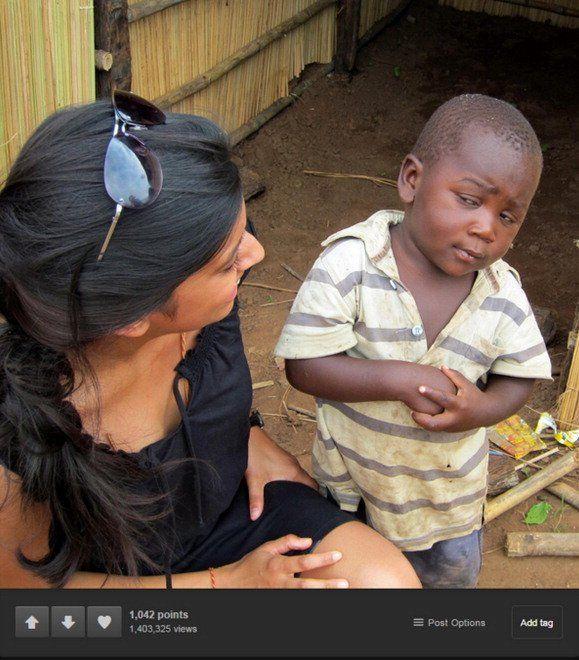 Bambino Scettico del Terzo Mondo, la vera storia dietro al meme