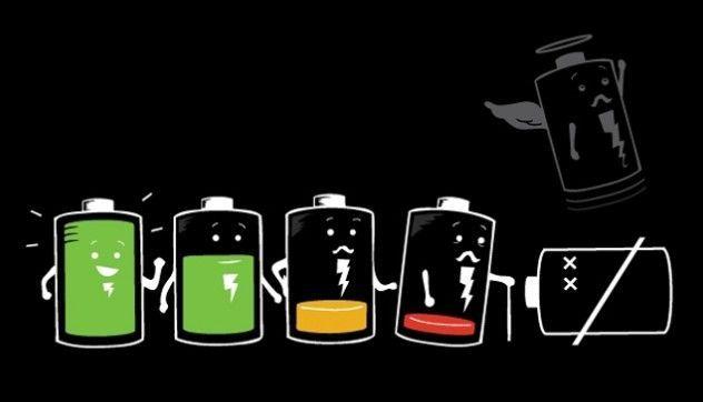 Batteria smartphone carica