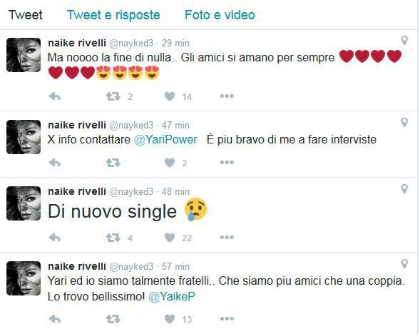 Carrisi Rivelli Game over