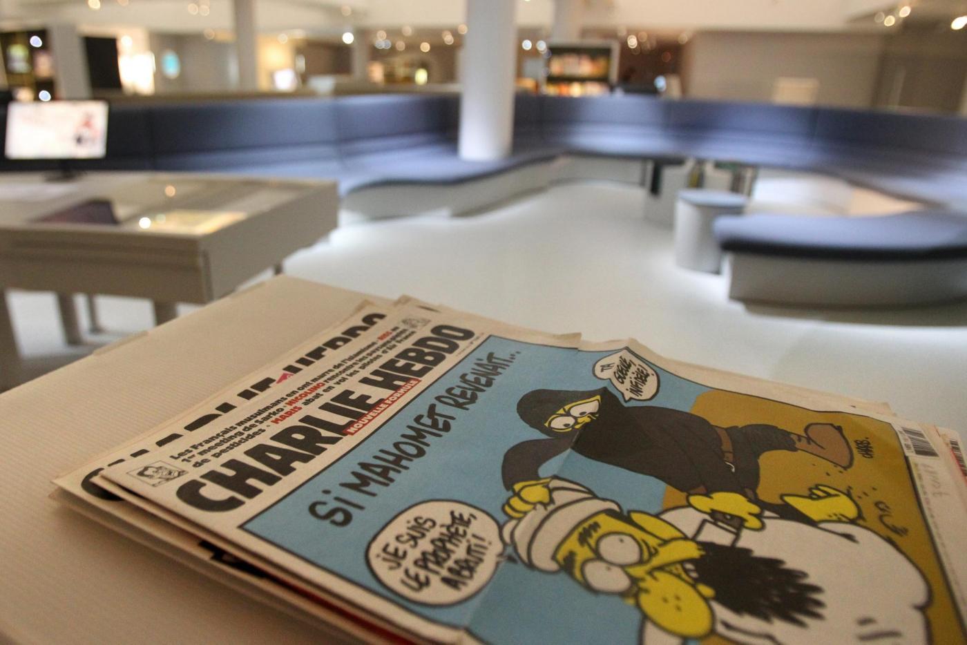Charlie-Hebdo al 42esimo Festival Internazionale del Fumetto di Angouleme