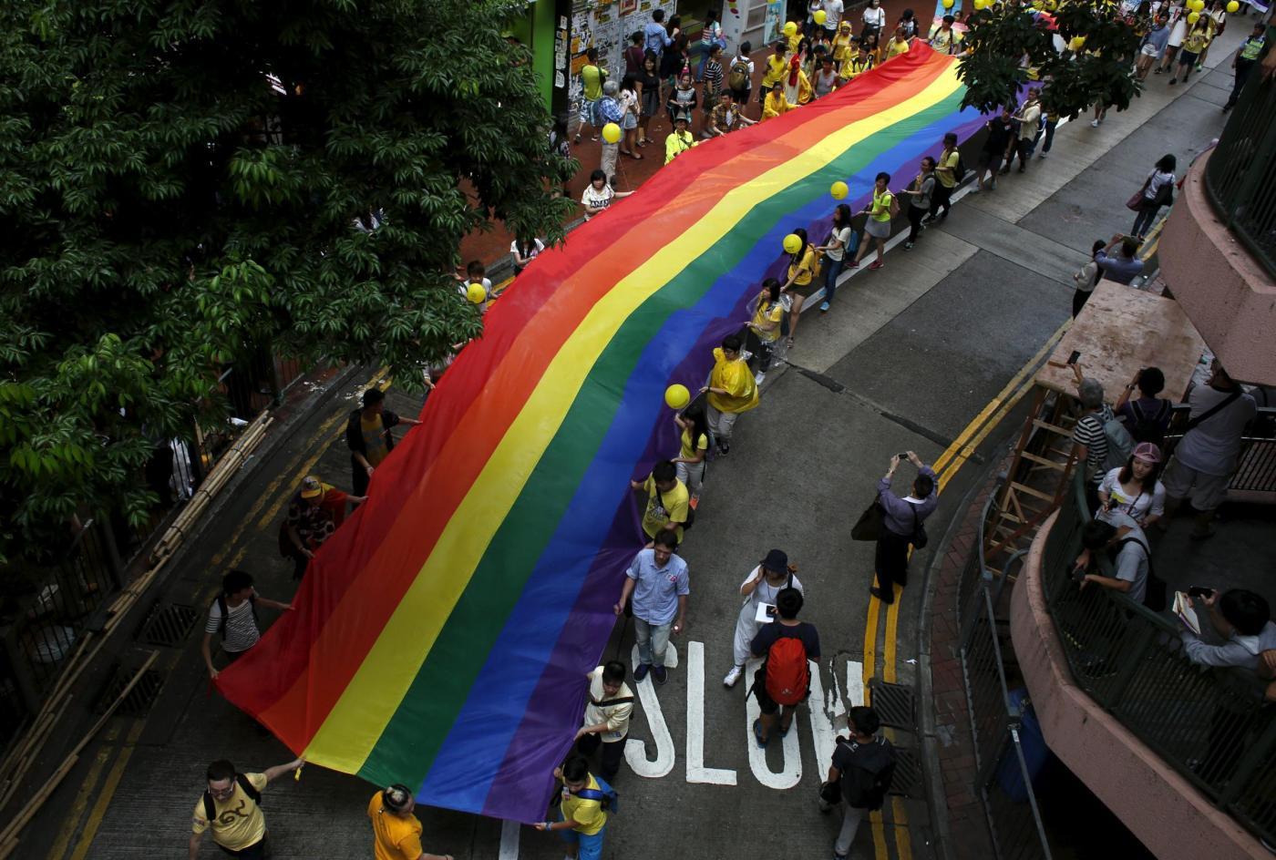 Gay Pride ad Hong Kong