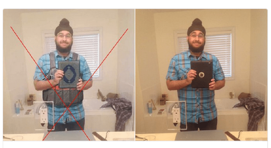 Giornalista con iPad e non terrorista con corano e cintura esplosiva