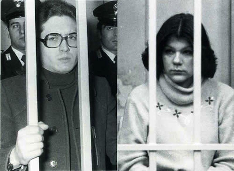 Guido Badini e Doretta Graneris durante il processo