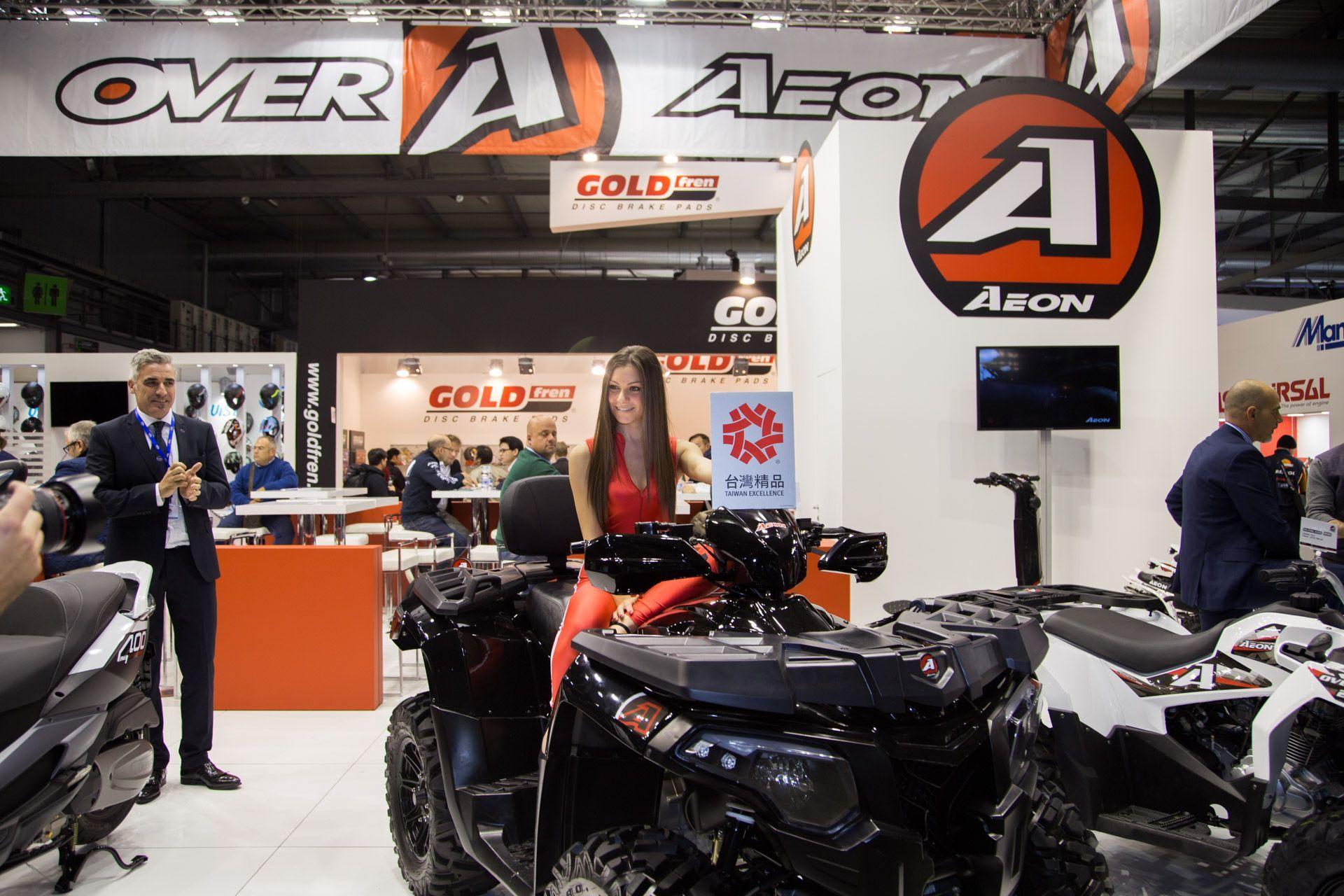 Aeon Motor ad Eicma 2015