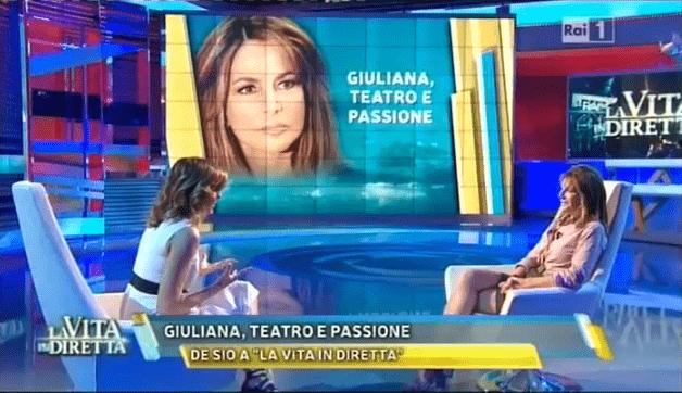 Giuliana De Sio provoca Cristina Parodi: frecciatine durante l'intervista a 'La vita in diretta'