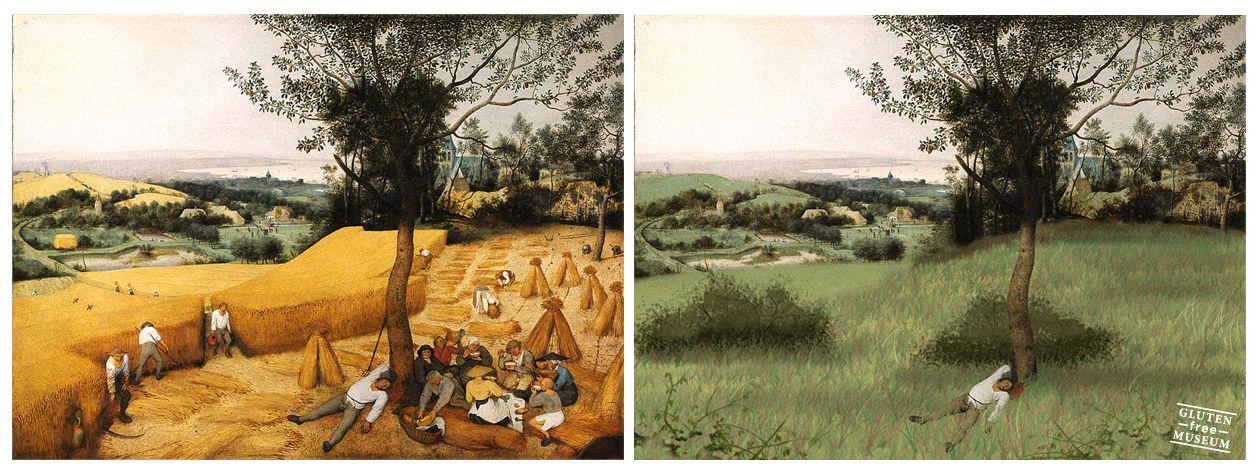 Mietitori Brueghel