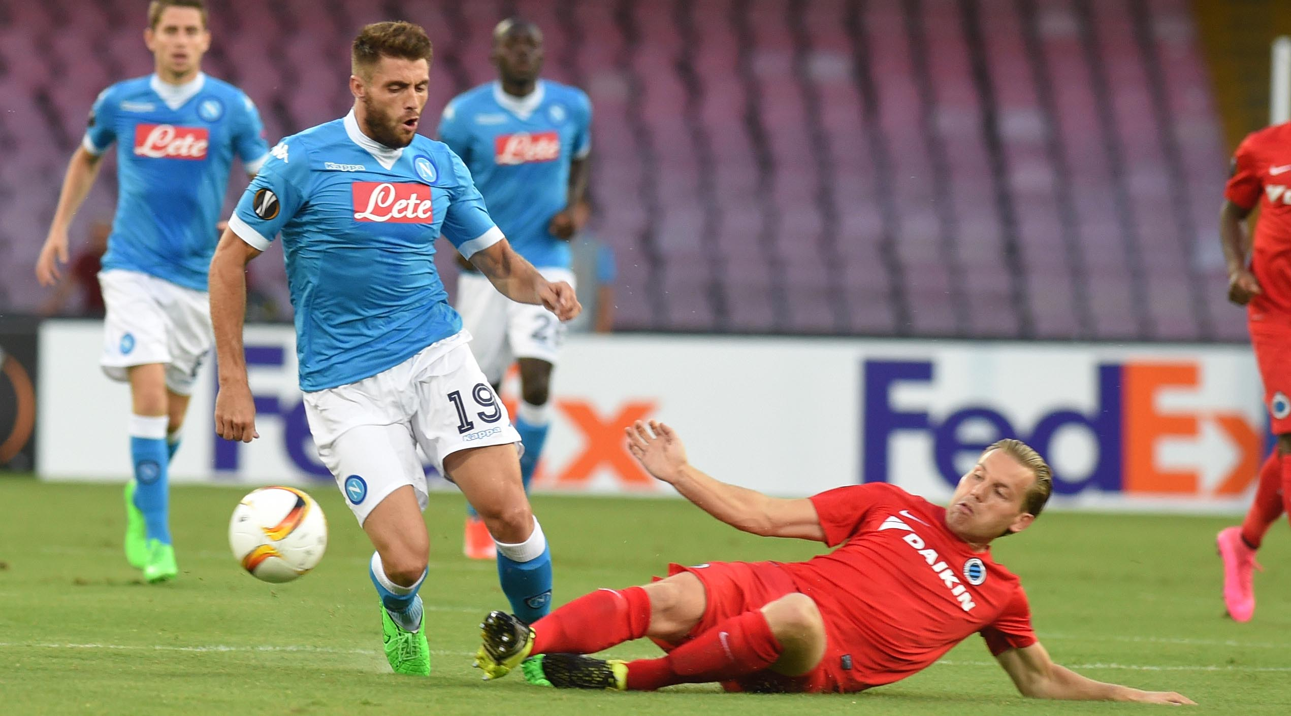 Napoli-Club Brugge