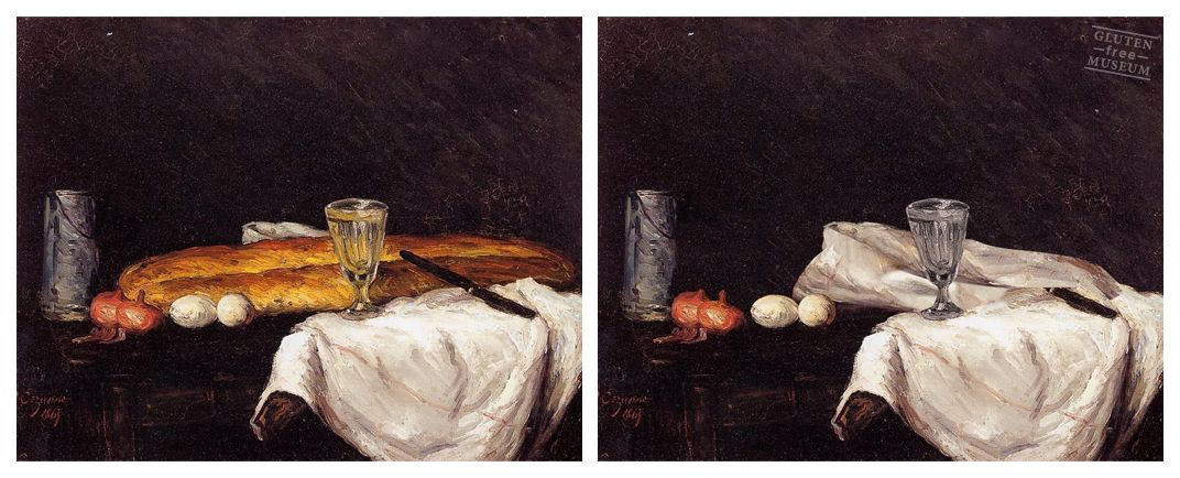 Natura morta Cezanne