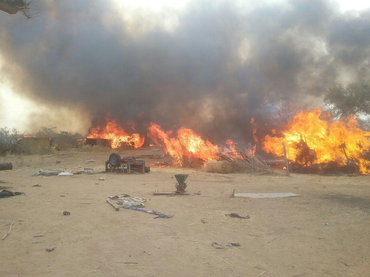 Nigeria operazione di distruzione campi dei terroristi di Boko Haram