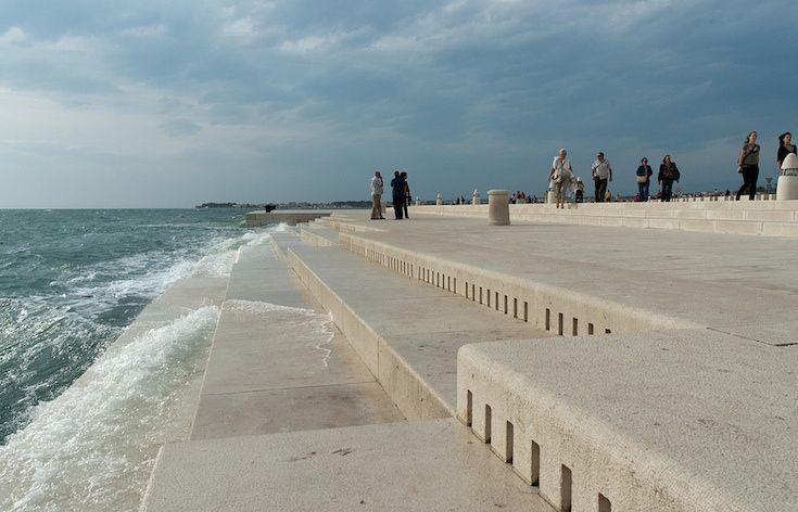 Croazia: organo marino trasforma le onde in musica