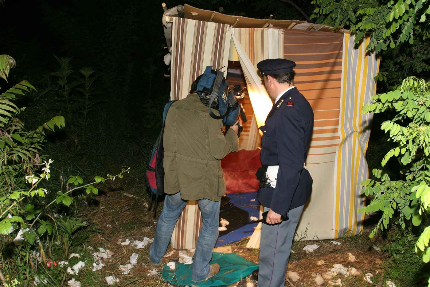 Prostitute nei boschi di Roma