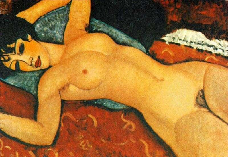 Modigliani, asta record per 'Nu couché': battuto a New York per 170 milioni di dollari