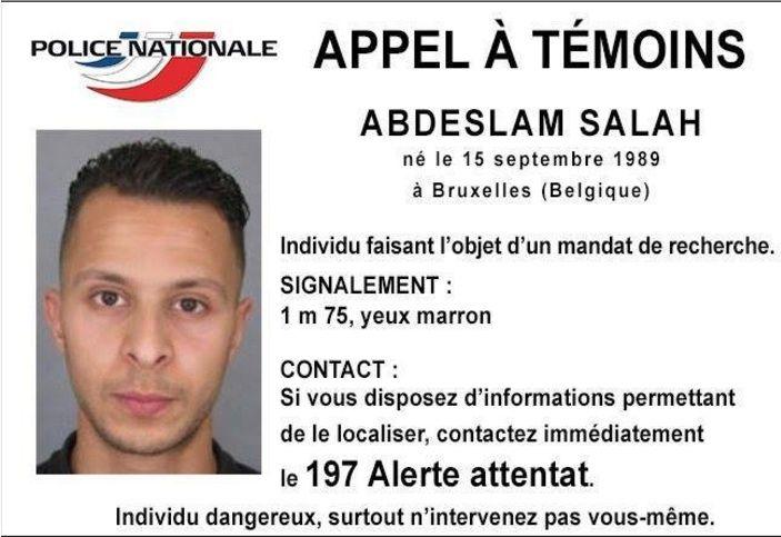 Uno degli attentatori di Parigi