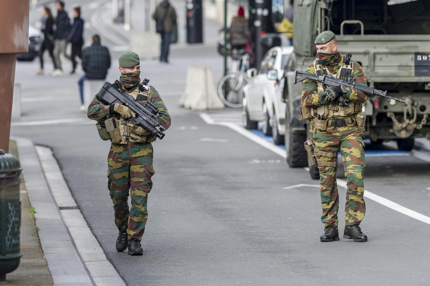 Bruxelles, massimo stato di allerta, livello 4