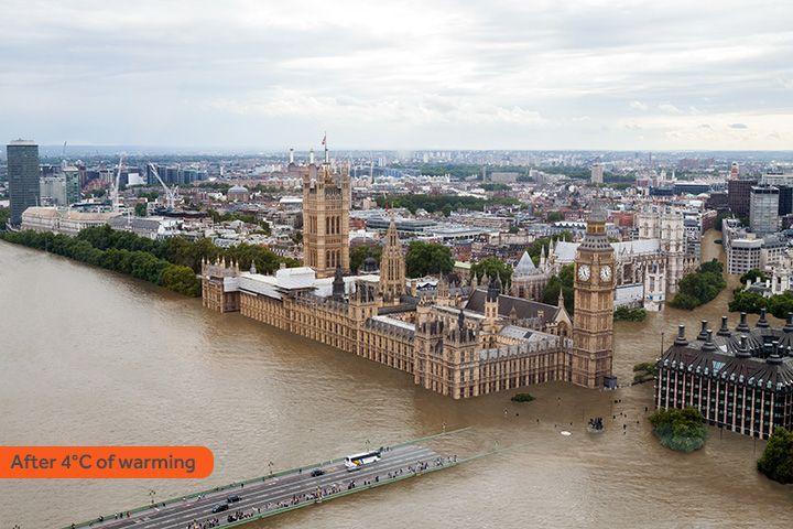 Riscaldamento globale, mare sommergerà le città se non si arrestano i cambiamenti climatici