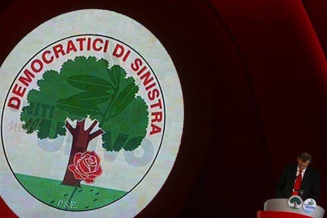 Logo Democratici di Sinistra