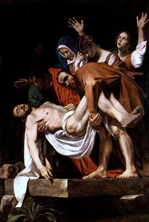 deposizione, caravaggio, pinacoteca vaticana