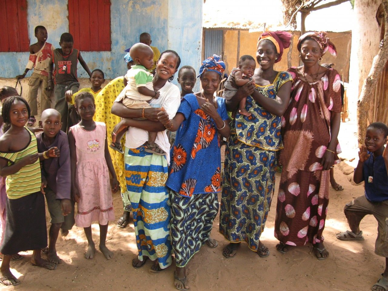 Donne in Gambia