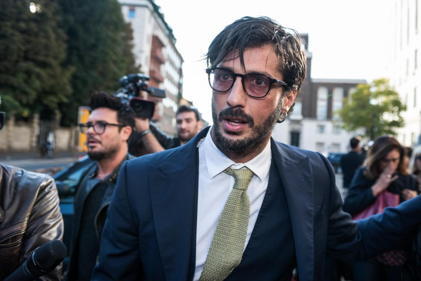 Fabrizio Corona professore