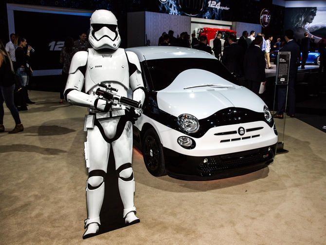 Fiat 500 elettrica: una showcar versione Star Wars