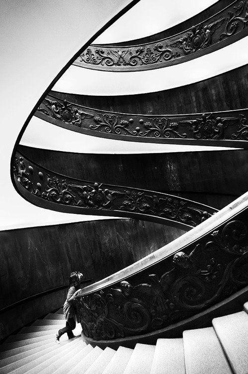 la scala elicoidale, musei vaticani