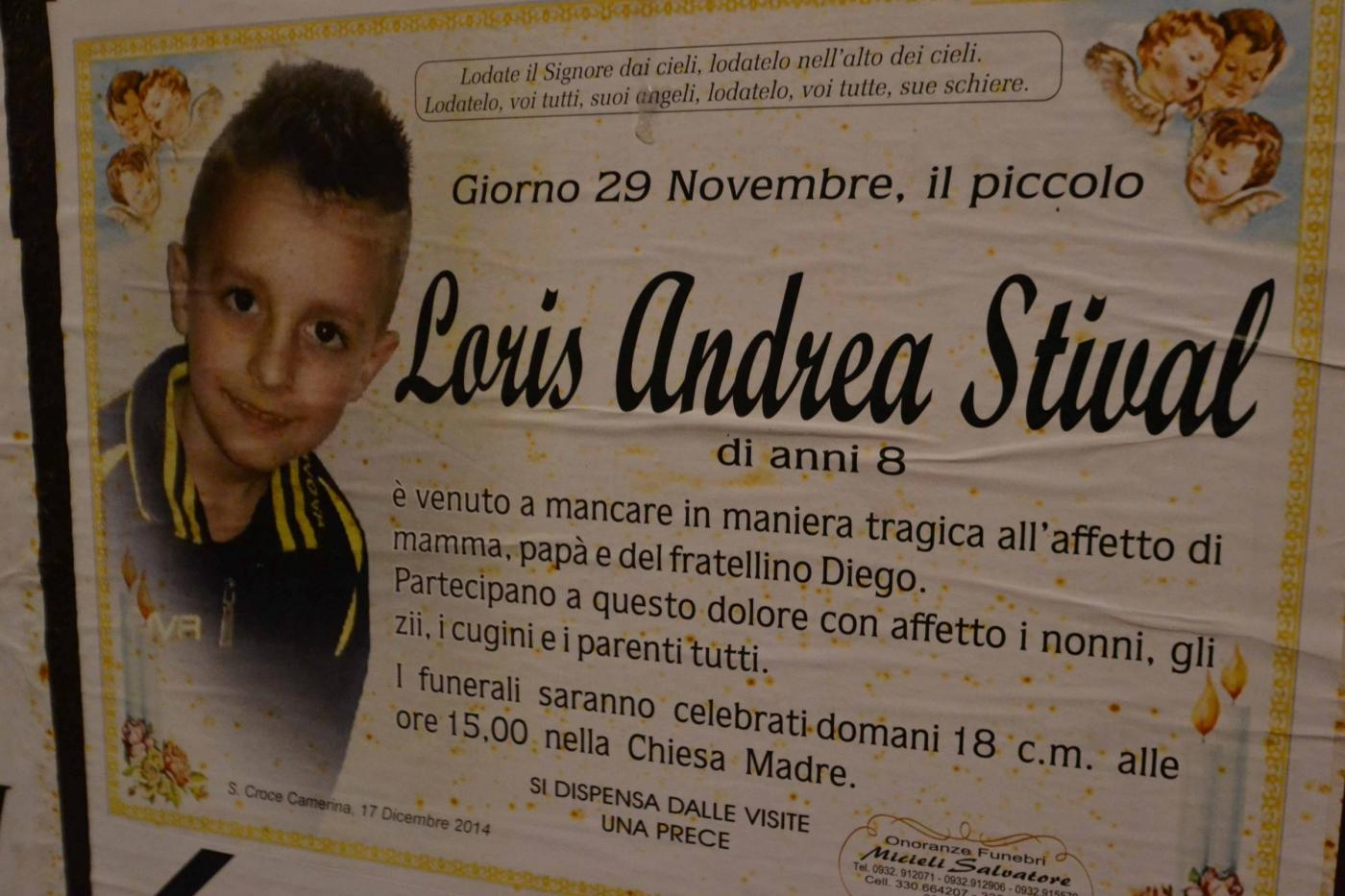 I funerali del piccolo Loris Stival