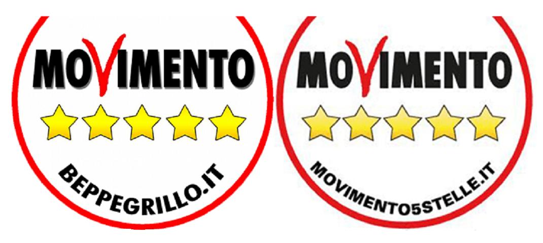 Movimento 5 Stelle volta la faccia a Beppe Grillo: tolto anche il suo nome dal logo