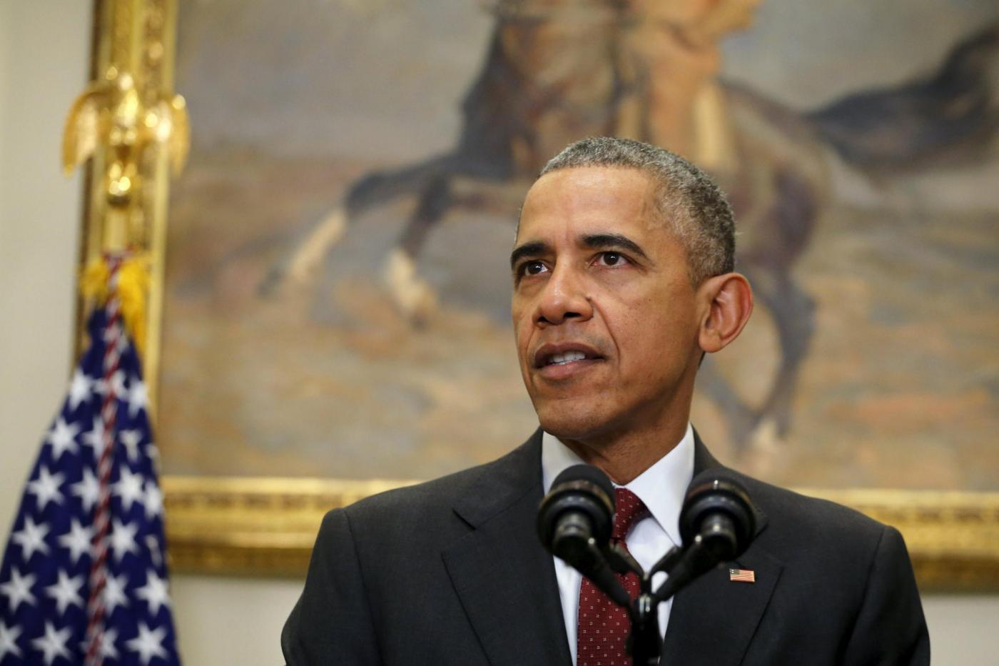 Usa, discorso del presidente Obama