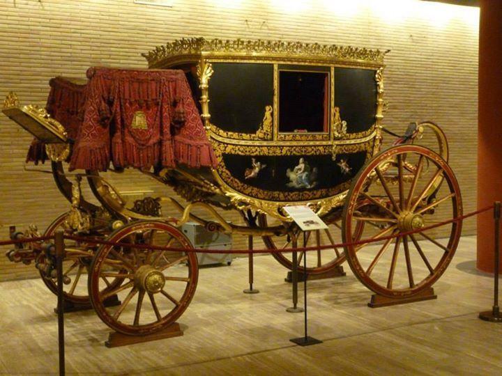 padiglione delle carrozze, musei vaticani