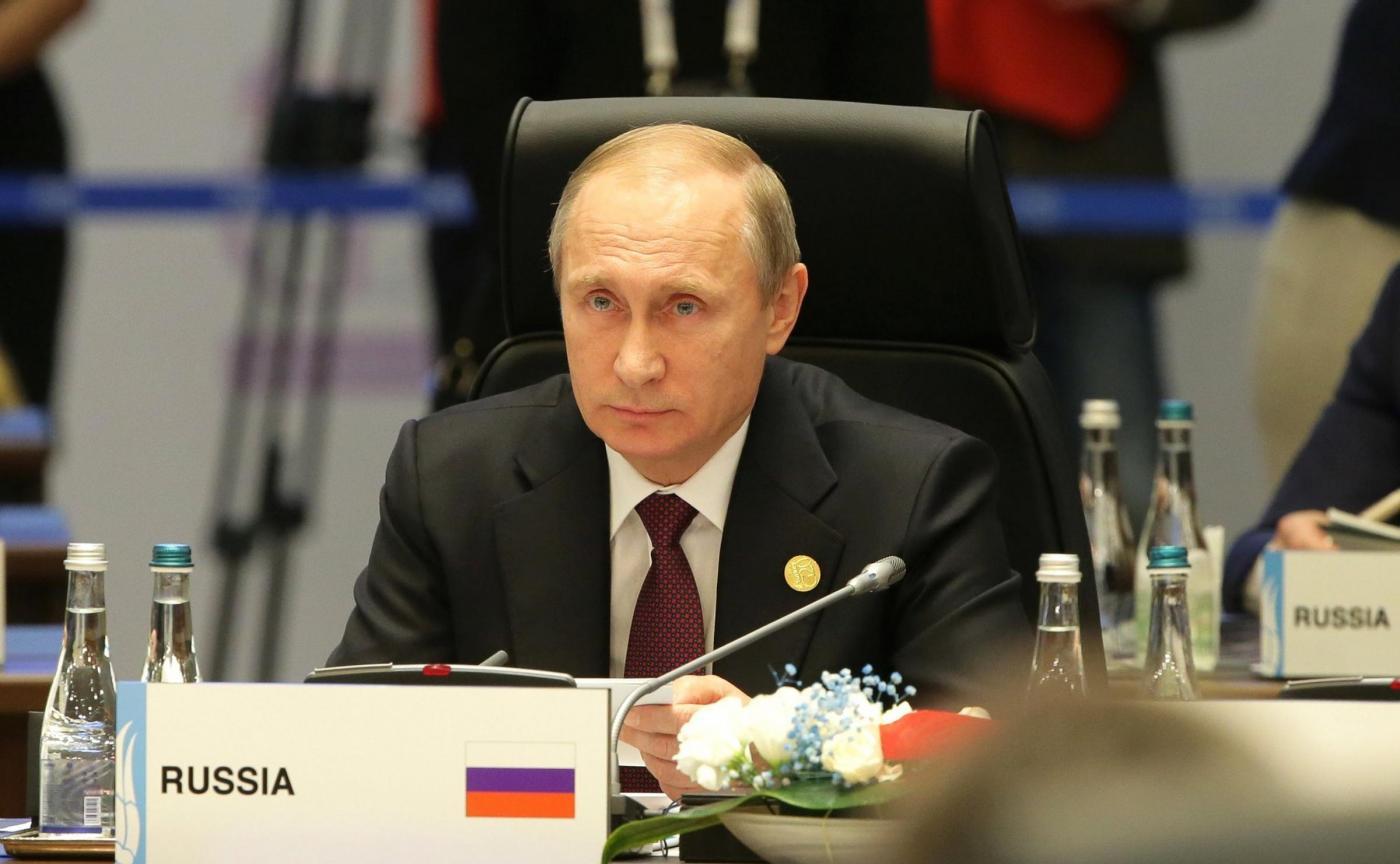 Vladimir Putin al G20 summit in Turchia