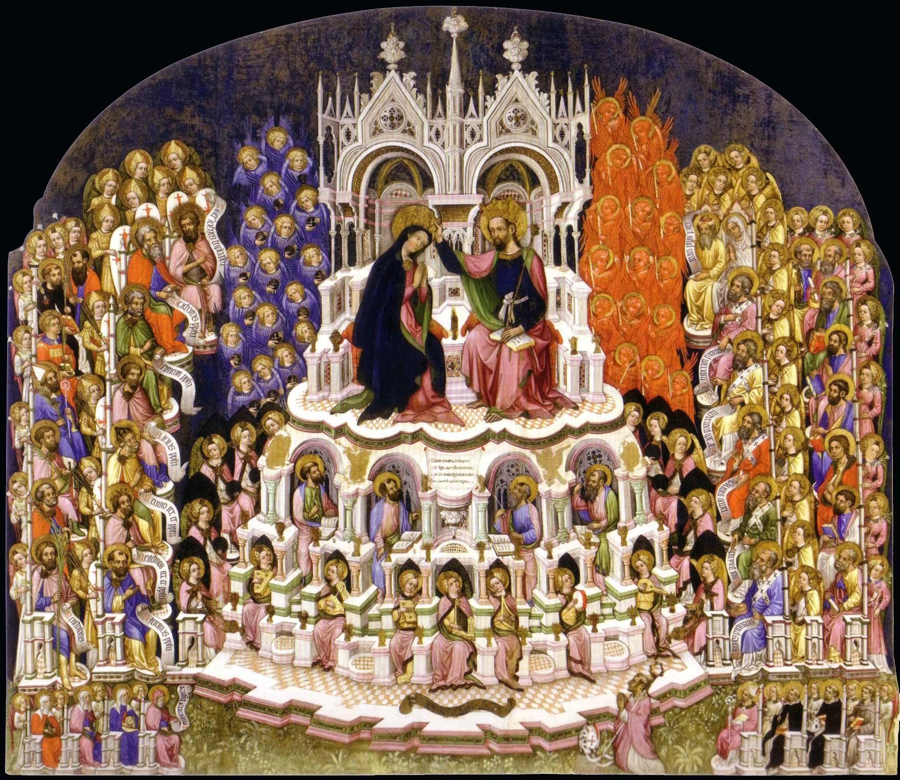 santi, chiesa cattolica