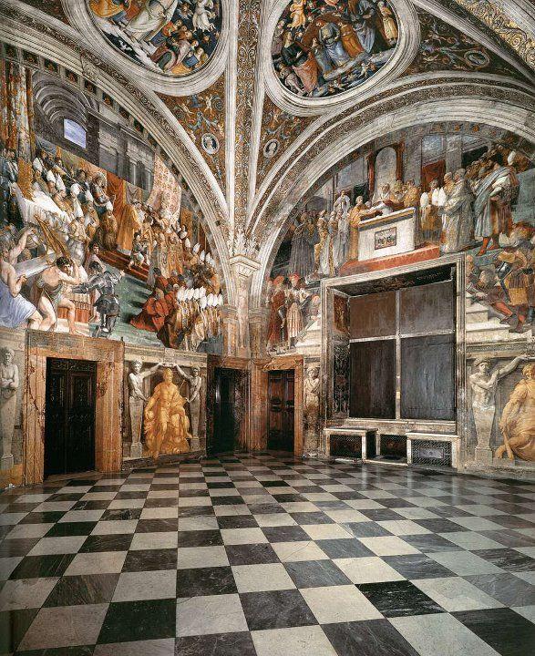 stanze di raffaello, musei vaticani