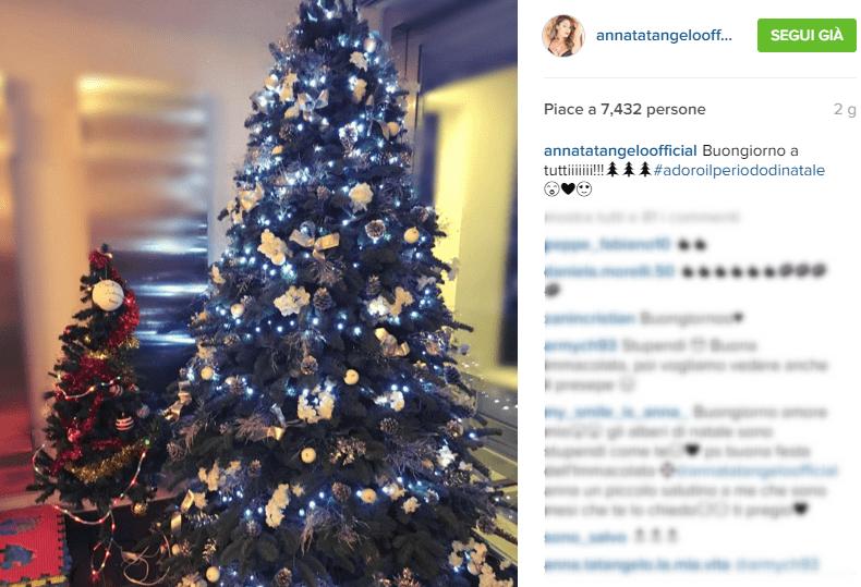 Albero di Natale 2015 Anna Tatangelo