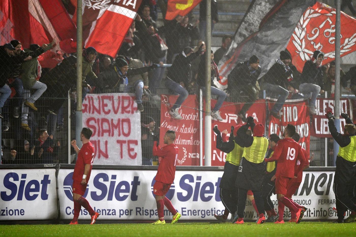 Spal vs Ancona Lega Pro 2015/2016